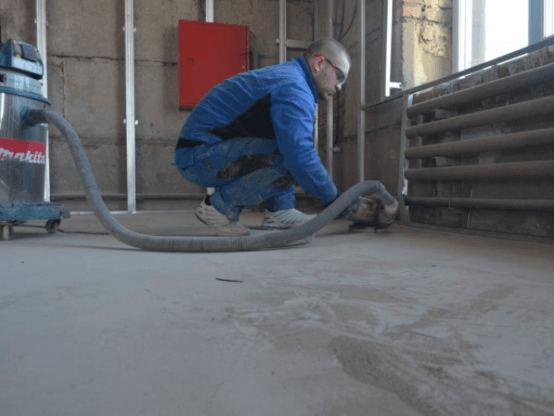 Ремонт промышленных бетонных полов в Санкт-Петербурге