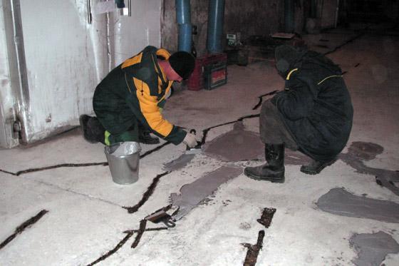 Ремонт стяжки пола в Санкт-Петербурге