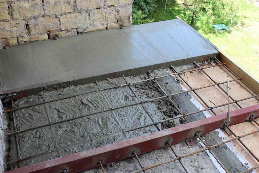 Укладка бетонного пола в Санкт-Петербурге