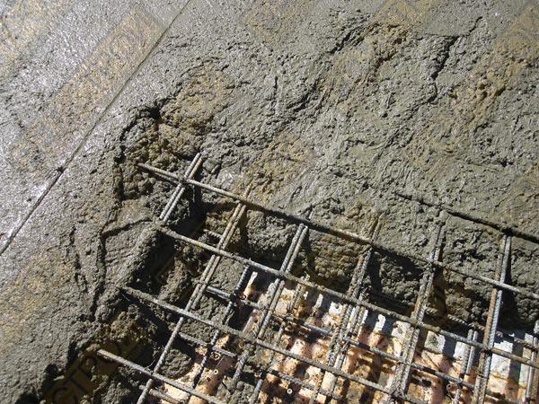 Армированный бетонный пол в Санкт-Петербурге