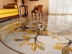 Наливные 3D полы в квартире в Санкт-Петербурге