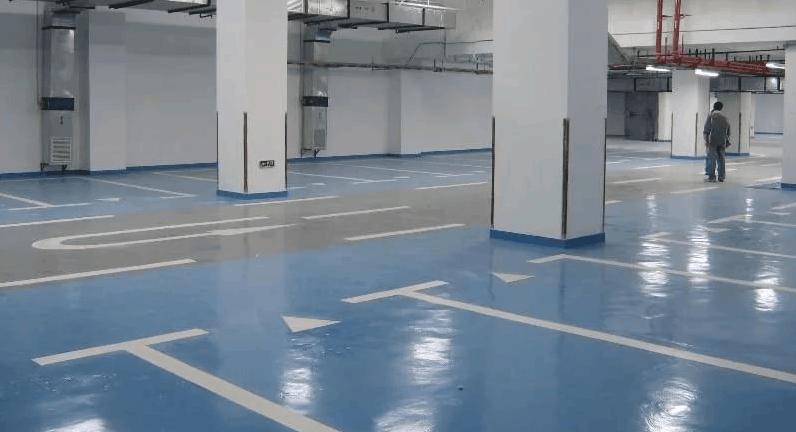 Наливные полы для паркинга в Санкт-Петербурге