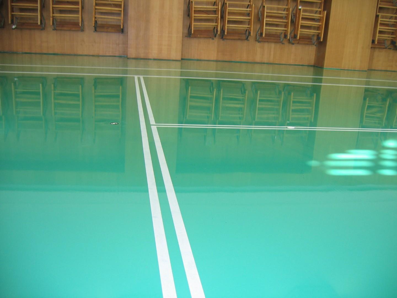 Наливные полы для спортивных залов в Санкт-Петербурге