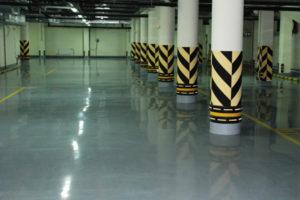 Полимерные полы для производственных помещений