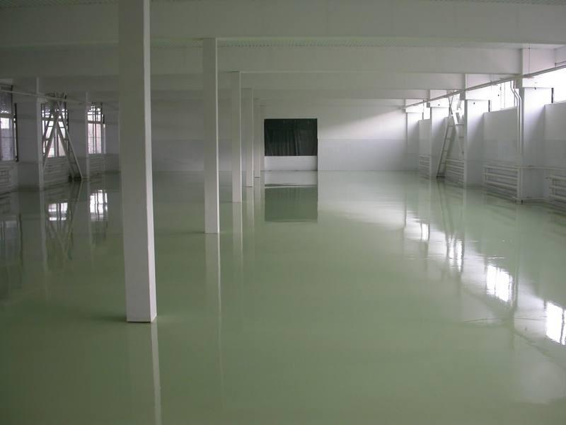 Полимерные полы для производственных помещений в Санкт-Петербурге