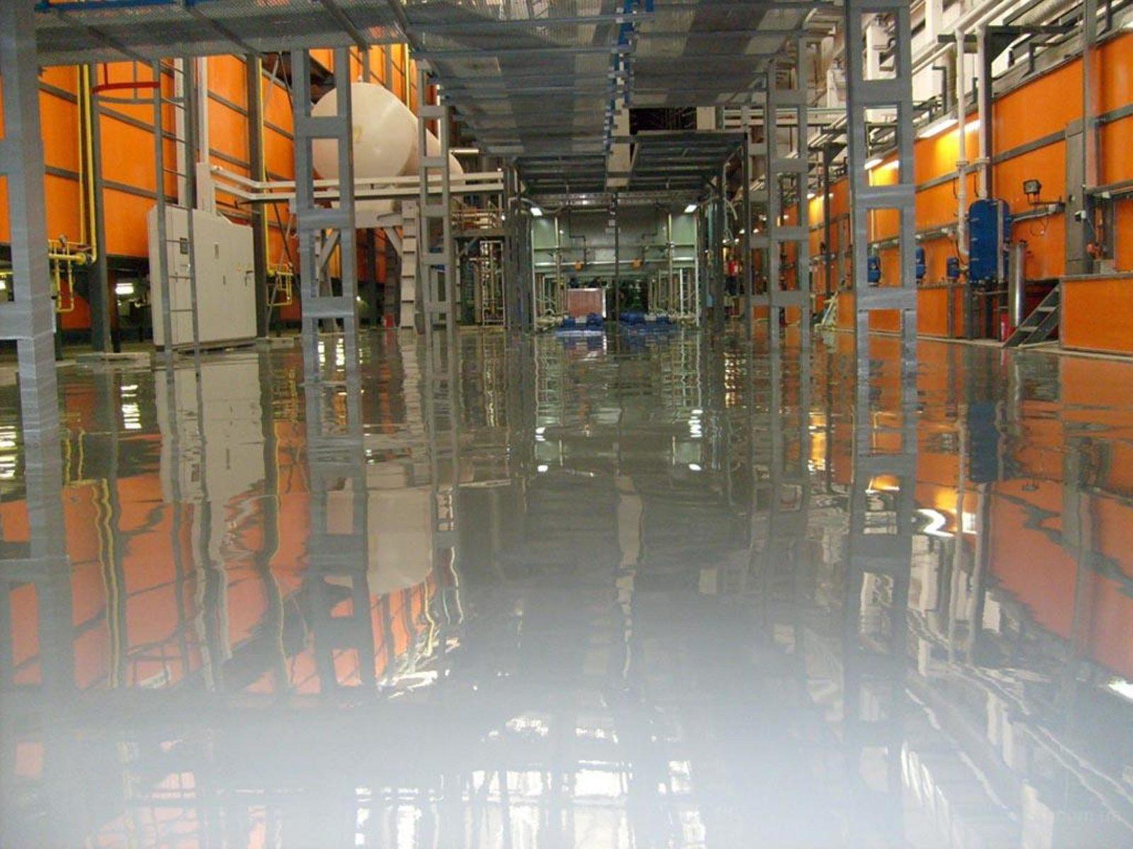 Полиуретановый пол для склада в Санкт-Петербурге
