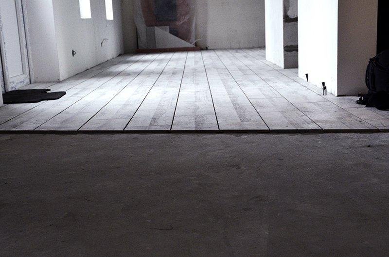 Стяжка пола под плитку в Санкт-Петербурге