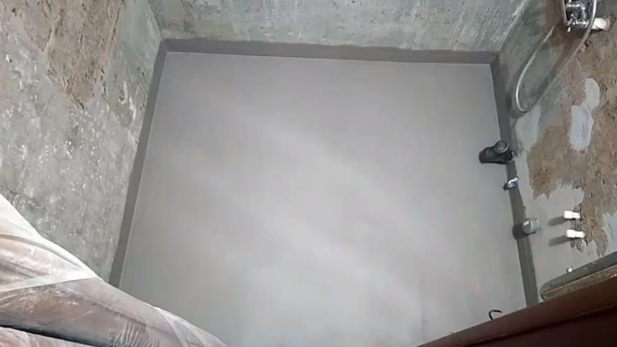 Стяжка пола в ванной в Санкт-Петербурге