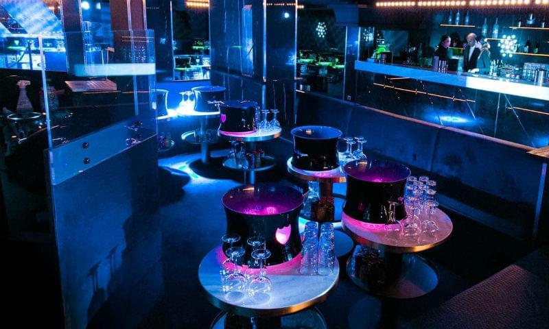 Наливные полы в клубе, баре, ресторане